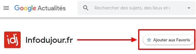 Infodujour sur Google Actualités - Google News